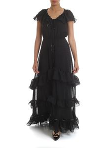 Off-White - Long dress Woman in black