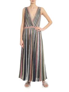 Missoni - Lamé knitted dress in multicolor