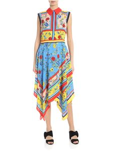 Alice + Olivia - Farrah dress multicolor