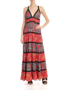 Alice + Olivia - Karolina dress in red and black