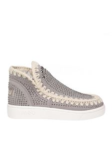 Mou - Sneakers Low-Cut Summer grigie