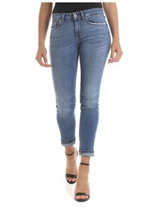 Dondup - Monroe low-rise jeans in blue