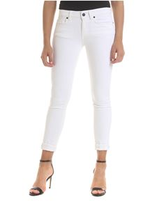 Dondup - Monroe jeans in white