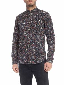 Paul Smith - Liberty spring printed shirt in blue