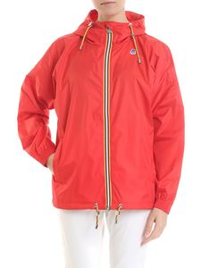 K-way - Marie Poly red jacket