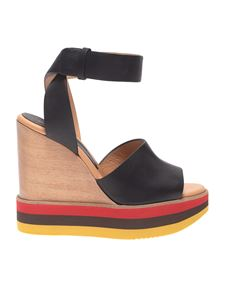 Paloma Barceló - Ayaka wedges in black