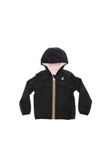 K-way - Lily Plus reversible jacket in black