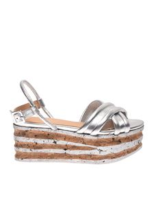 Paloma Barceló - Clara sandals in silver