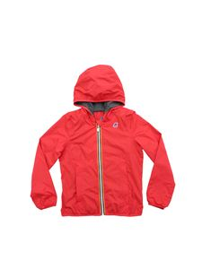 K-way - Lily Poly jacket in red