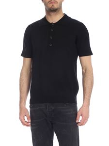 N° 21 - Black and blue polo with N21 logo