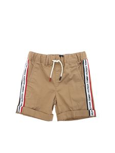 Tommy Hilfiger - Bermuda in beige with white branded bands