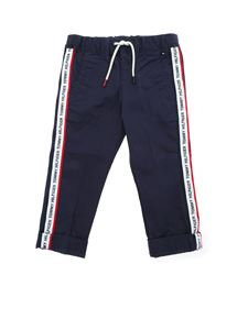 Tommy Hilfiger - Trousers in blue with white bands
