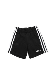 Adidas - Essential 3 Stripes bermuda in black