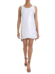 Gaelle Paris - Sequined dress in white