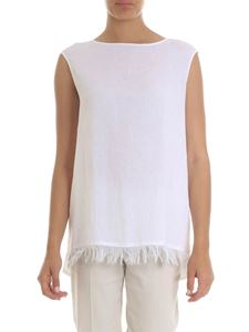 Fabiana Filippi - Top in white with fringe
