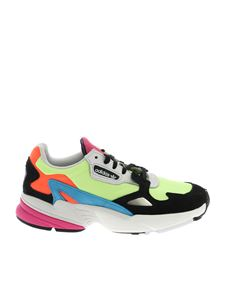 Adidas - Falcon W sneakers in fluo yellow