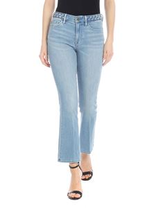 Frame - Le Crop Mini Boot jeans in light blue