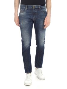 Diesel - D-Strukt jeans in dark blue