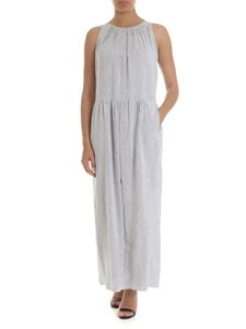 Max Mara Weekend - Tenace dress in white with blue stripes