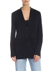 MSGM - Black jacket with padded straps