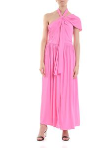 MSGM - Pink dress with cross detail
