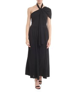 MSGM - Black dress with cross detail