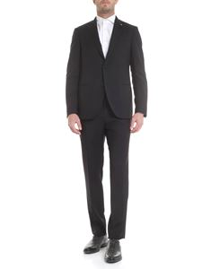 Lardini - Two-buttoned suit in black