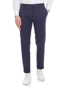 Paul Smith - Cotton trousers in blue