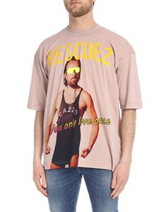 Vivienne Westwood  - Rescue2 T-shirt in pink