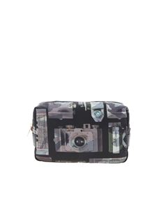 Paul Smith - Washbag with multicolor Camera print
