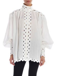 Zimmermann - Over shirt in ivory-color