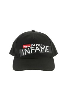 Diesel - Hat in black with Infame print