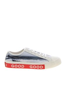 PS by Paul Smith - Fennec cream-colored sneakers
