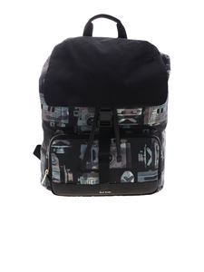 Paul Smith - Backpack with multicolor Camera print