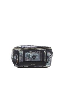 Paul Smith - Waist bag with multicolor Camera print