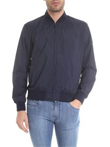 Fay - Blue jacket with stretch edges