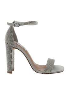 Steve Madden - Franky sandals in silver with rhinestones