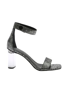 Kendall + Kylie - Lexx3 sandals in black and silver