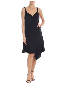 Off-White - Love jacquard dress in black