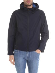 Fay - Hooded jacket in blue
