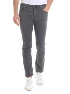 Jacob Cohën - Dark gray 5-pocket jeans