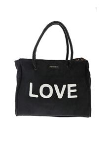 4giveness - Tricolors Love bag in black