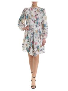 Zimmermann - Short dress in white with floral print