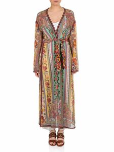 Etro - Silk overcoat with paisley and floral print