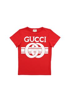 Gucci - Red T-shirt with logo print