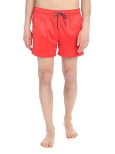 Paul Smith - Zebra Logo sea boxer in red