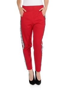 Dondup - Laety pants in red