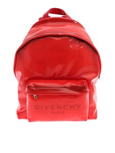 Givenchy - PVC backpack in red