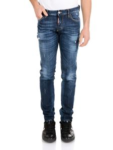 Dsquared2 - Slim 5 pocket jeans in blue