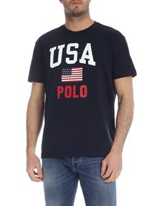 POLO Ralph Lauren - T-shirt USA Polo in dark blue